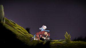 アルプスと危険な森_崖4