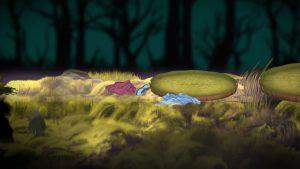 アルプスと危険な森_水底3