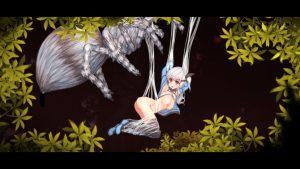 アルプスと危険な森_蜘蛛1