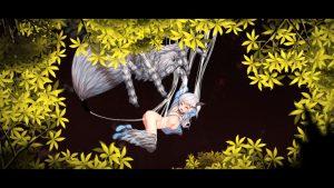 アルプスと危険な森_蜘蛛5