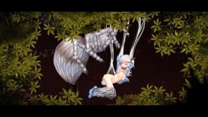 アルプスと危険な森_蜘蛛6