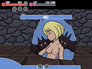 Lewdest_Labyrinth_戦闘エロ2