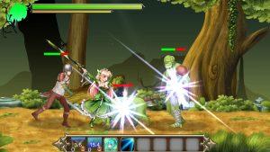 プリンセスディフェンダー ~精霊姫エルトリーゼの物語~_戦闘1