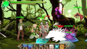 プリンセスディフェンダー ~精霊姫エルトリーゼの物語~_戦闘2