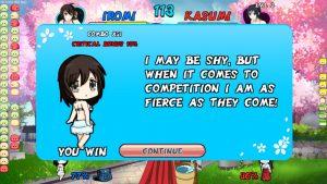 Waifu Fight Dango Style_勝利1