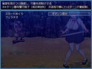 プリンセスプリンス~女体化王子リュートのエッチな冒険~_戦闘エロ1