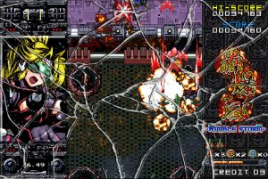轟爆嵐-RumbleStorm-_被弾
