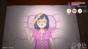 眠り姫様_撫で撫で2